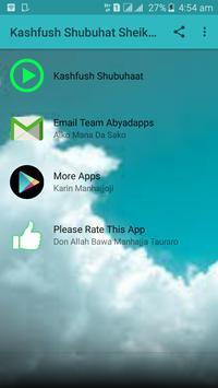 Littafin Kashfush Shubuhat Sheik Jaafar mp3 screenshot 2