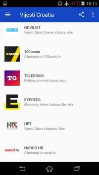 Vijesti Croatia screenshot 4