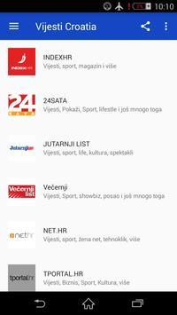 Vijesti Croatia screenshot 6