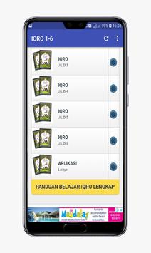 IQRO 1-6 Lengkap screenshot 1