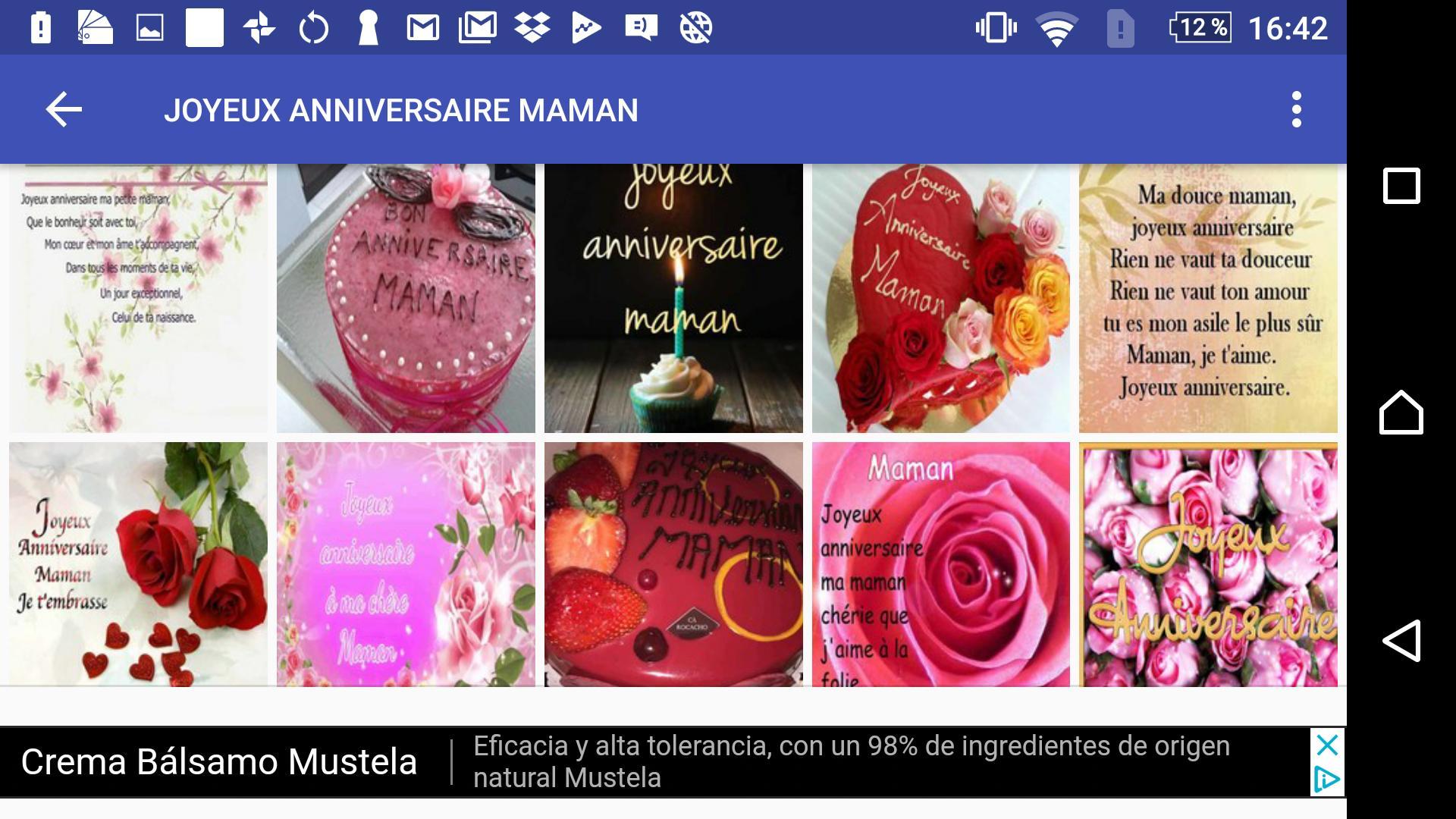 Joyeux Anniversaire Maman For Android Apk Download