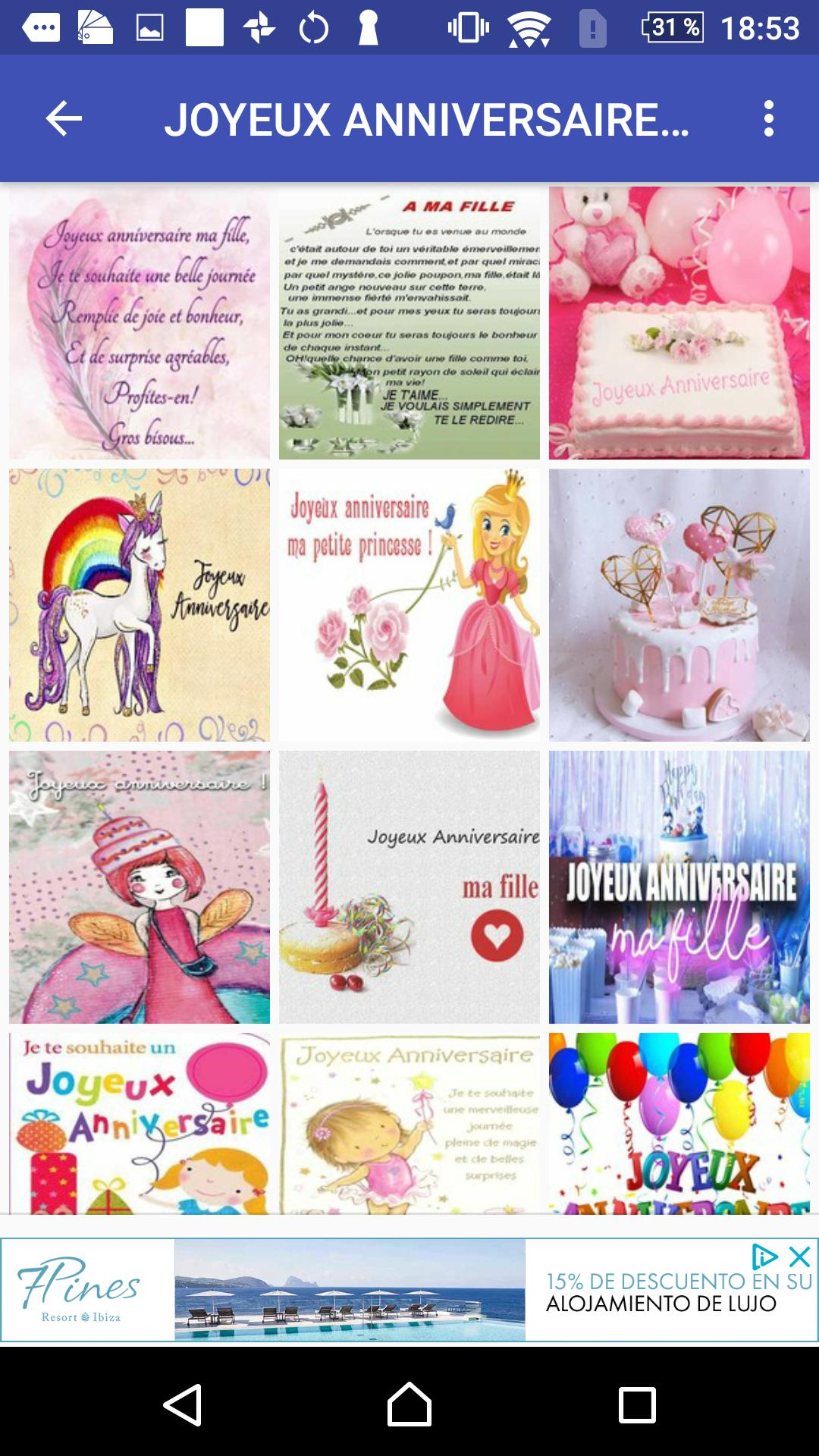 Joyeux Anniversaire Fille For Android Apk Download