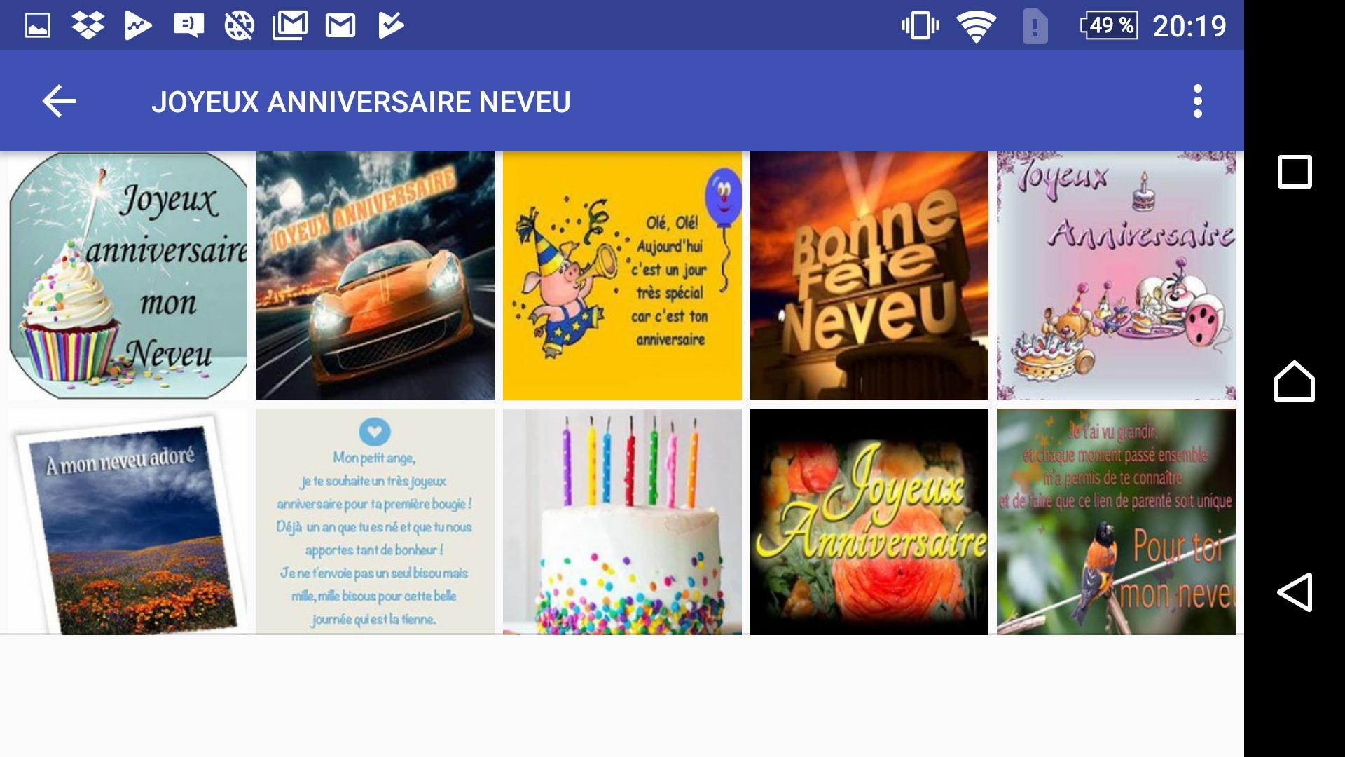 Joyeux Anniversaire Neveu For Android Apk Download