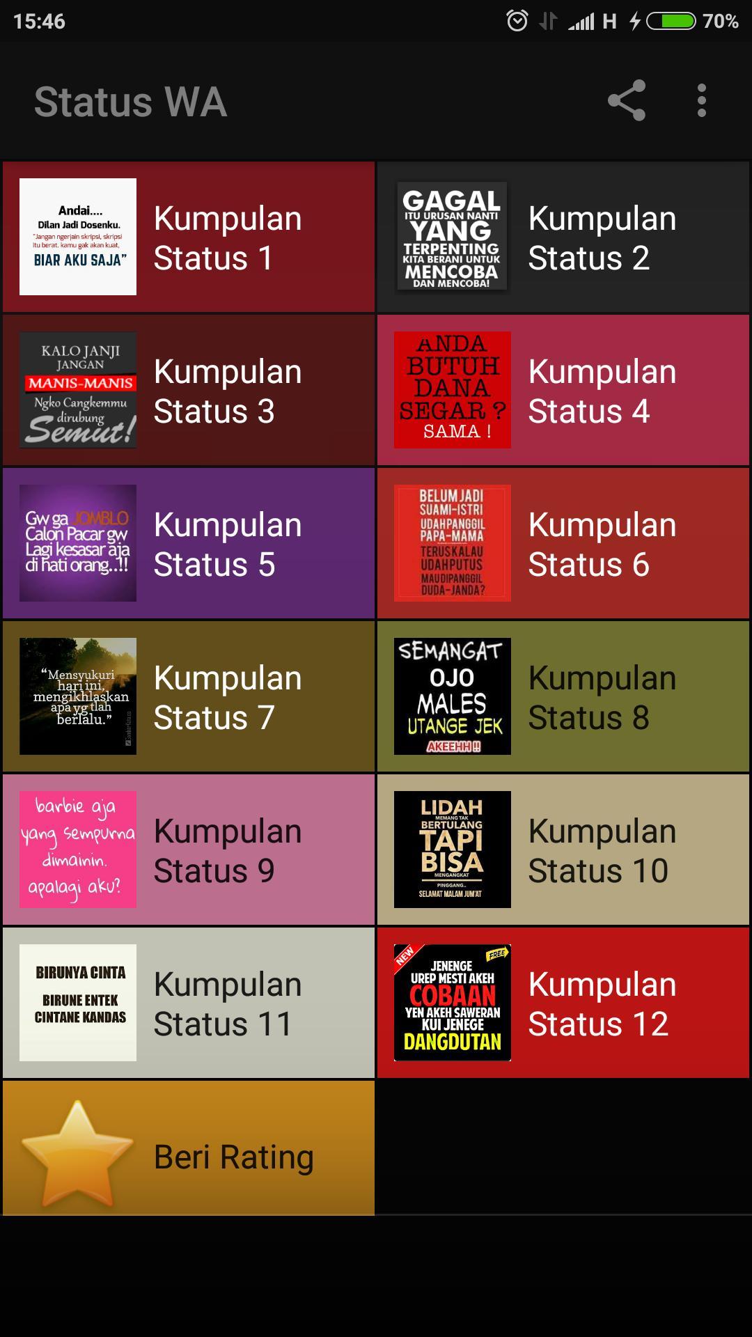 Status Dp Wa Wallpaper Unik Gokil Lucu Offline For Android