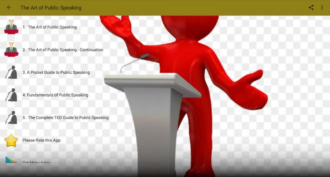 Public Speaking -Tips To Improve Public Speaking screenshot 1