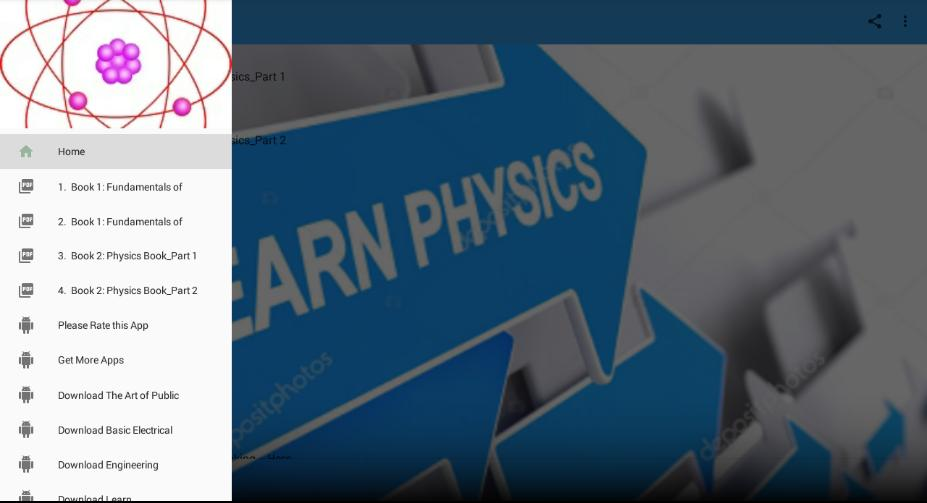 Complete Physics Textbooks: All in One for Android - APK