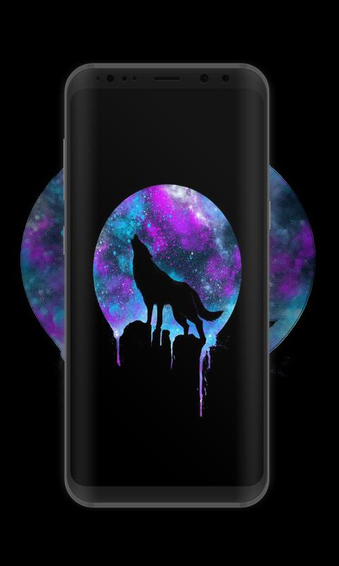 Galaxy Hd Wild Wolf Wallpaper For Android Apk Download