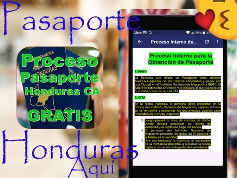 🛃🇭🇳Proceso de Pasaportes Honduras🛄Gratis🛩️ screenshot 19