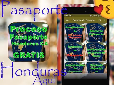 🛃🇭🇳Proceso de Pasaportes Honduras🛄Gratis🛩️ screenshot 20