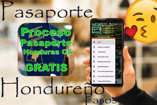 🛃🇭🇳Proceso de Pasaportes Honduras🛄Gratis🛩️ screenshot 7