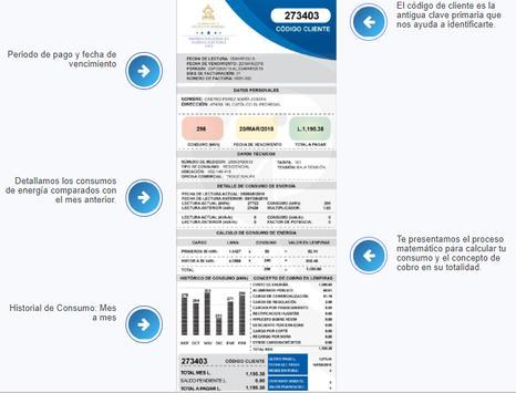 Pago de Factura de Energía Eléctrica⚡💰🇭🇳KWh⚡ screenshot 23