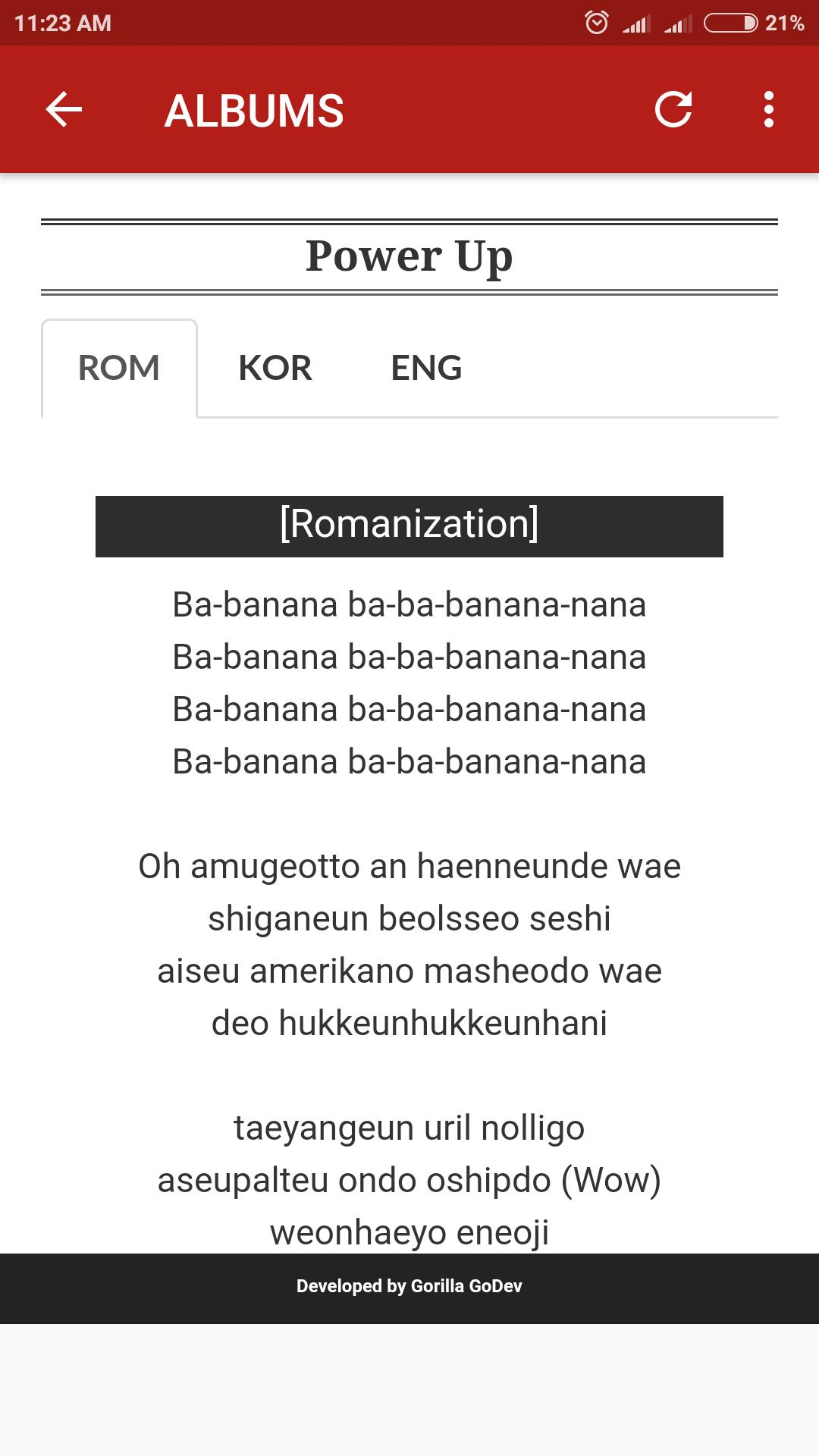 Red Velvet Lyrics for Android - APK Download