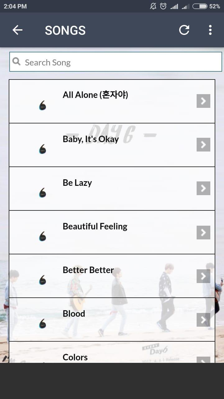 Day6 Lyrics for Android - APK Download