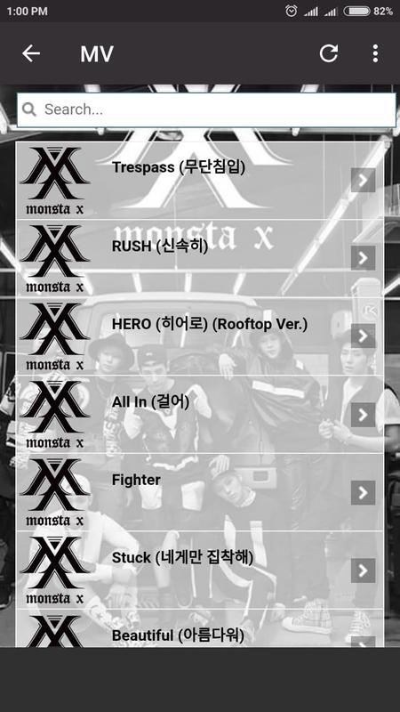 Monsta X Lyrics For Android