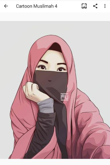 Cartoon Muslimah Wallpaper And Dp For Android Apk Download