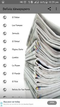 Bolivia Newspapers poster