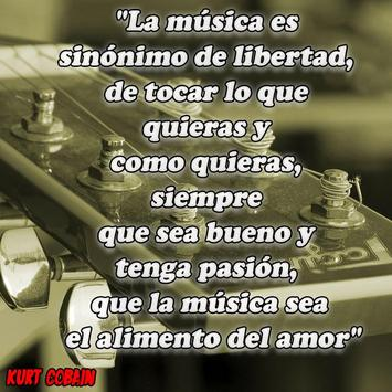 Frases de famosos del Rock and Roll Metal y Punk screenshot 1