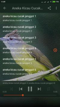 Suara Cucak Jenggot Gacor screenshot 2
