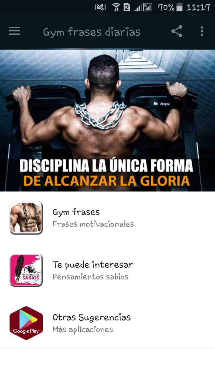 Gym Frases Diarias For Android Apk Download