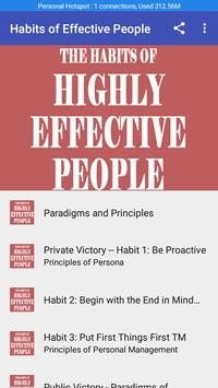 Habits of Highly Effective People PDF poster