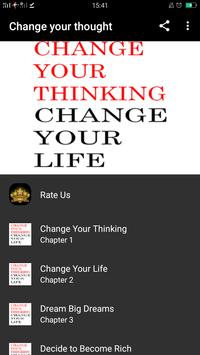 Change Your Thought, Change Your Life poster