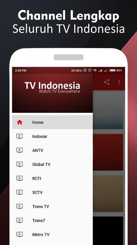 Tv Online Id Live Streaming Indonesia Poster