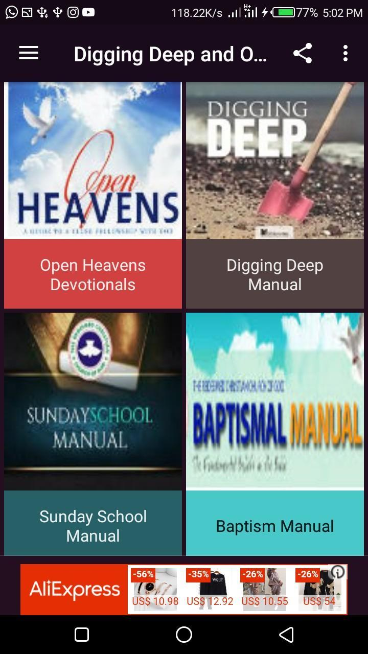 RCCG Digging Deep Manual 2019 for Android - APK Download
