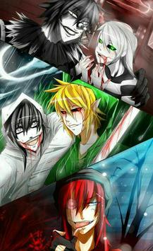 Creepypasta Anime Wallpapers screenshot 5