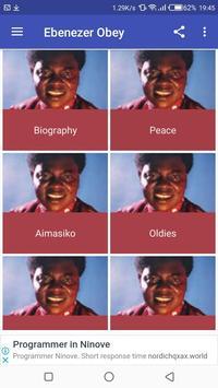 Ebenezer Obey's Music screenshot 1