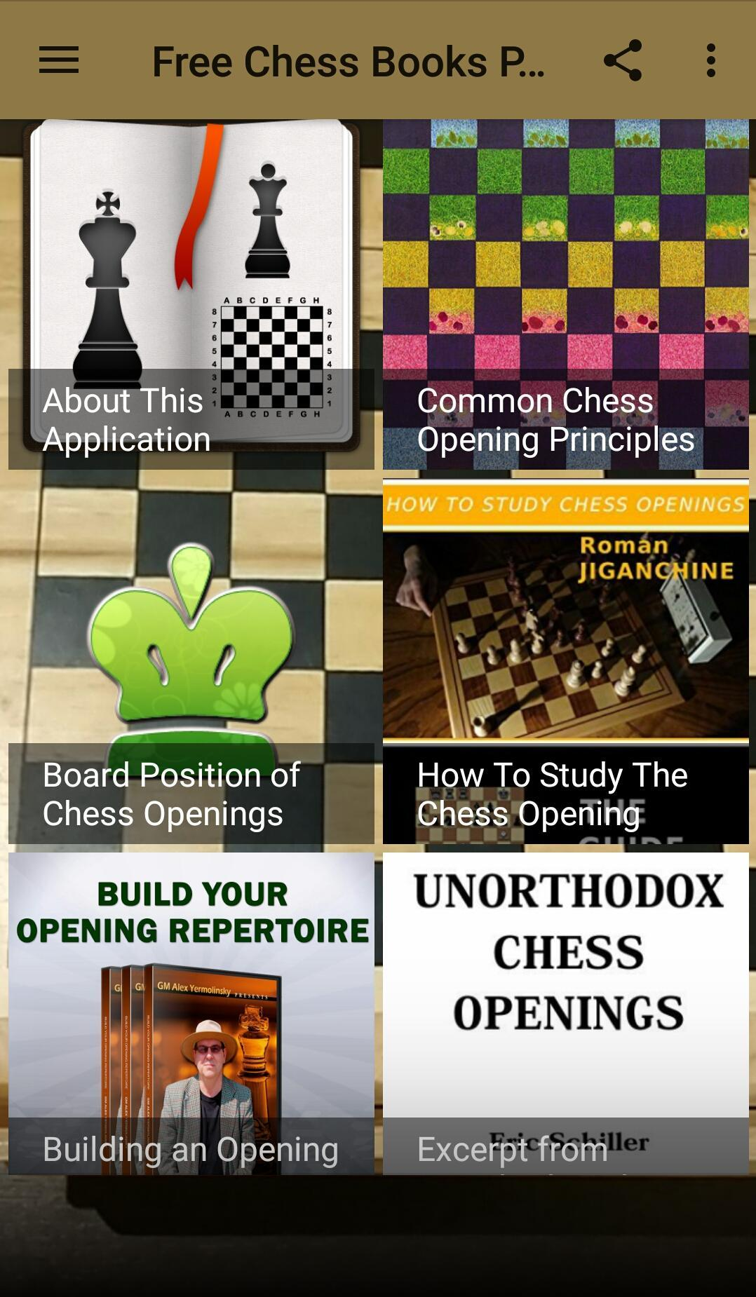 Free chess books pdf (opening #1) ♟️ for android apk download.