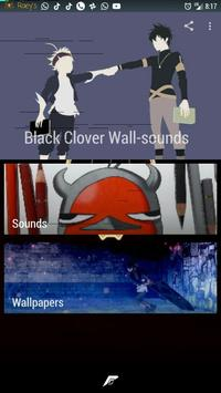 Black Clover Wall-sounds screenshot 2