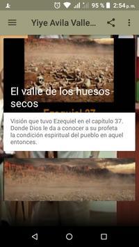 Valle de los Huesos Secos poster