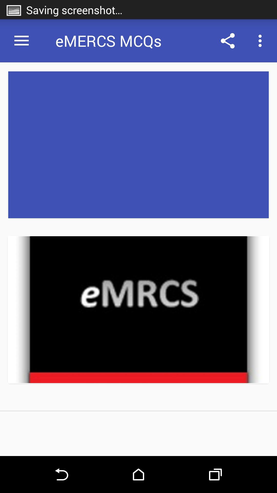 eMRCS MCQs/EMQs for Android - APK Download