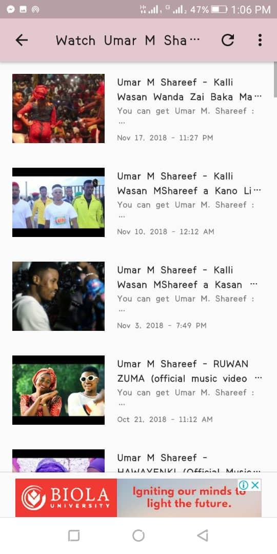 Umar M Shareef for Android - APK Download