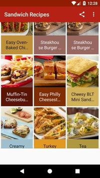 Sandwich Recipes poster