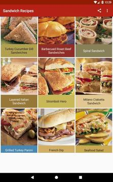 Sandwich Recipes screenshot 12