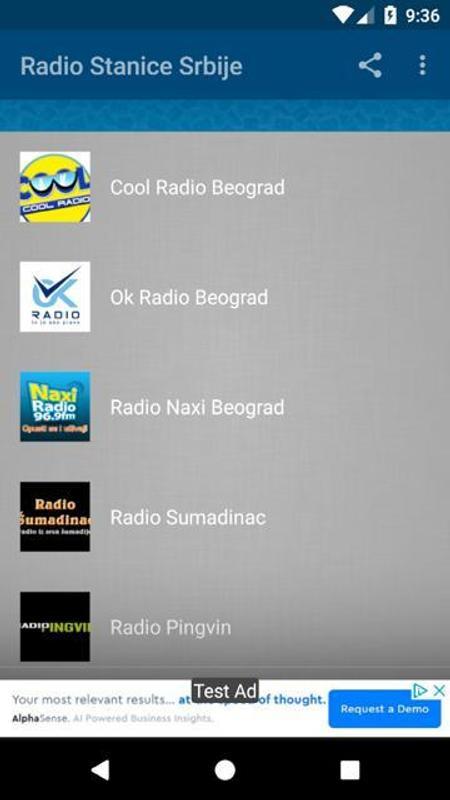 Radio stanice srbija for android apk download.