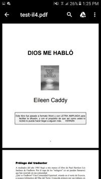 Dios me Habló Libro poster