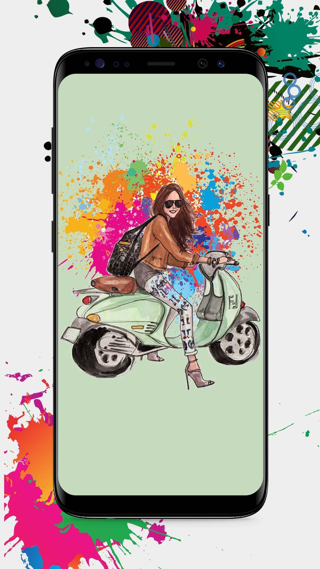 Vespa Scooter Wallpapers For Android Apk Download