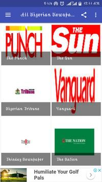 All Nigerian Newspapers poster