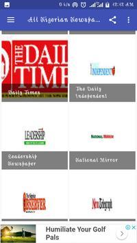 All Nigerian Newspapers screenshot 11