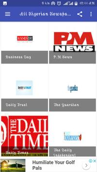 All Nigerian Newspapers screenshot 1