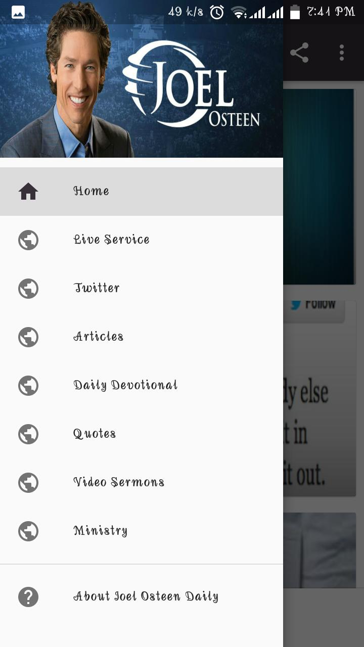 JOEL OSTEEN DAILY for Android - APK Download