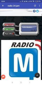 RADIO ONLINE 24 JAM NONSTOP screenshot 2