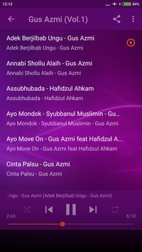 Sholawat Gus Azmi Offline lengkap Terbaru screenshot 1