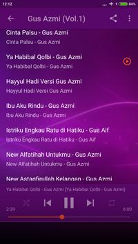 Sholawat Gus Azmi Offline lengkap Terbaru screenshot 2