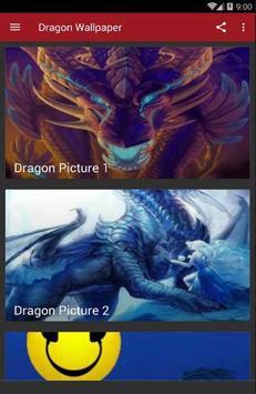 Amazing Dragon Wallpaper poster