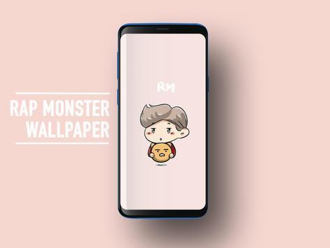 BTS Rap Monster Wallpapers KPOP Fans HD screenshot 3