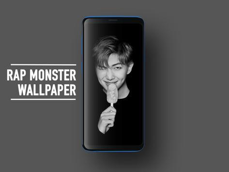 BTS Rap Monster Wallpapers KPOP Fans HD screenshot 1