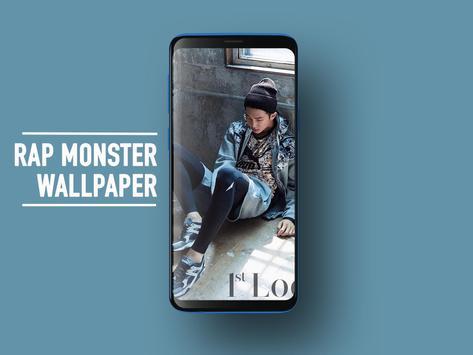 BTS Rap Monster Wallpapers KPOP Fans HD screenshot 2